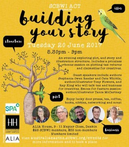 SCBWI ACT - June 2017 - Building Your Story - final